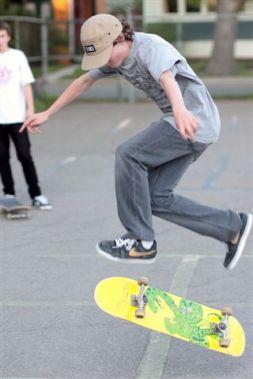 Skater Ringo Jedlic